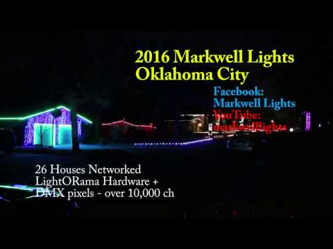 Markwell Lights 2016 - Wizards in Winter (TSO)