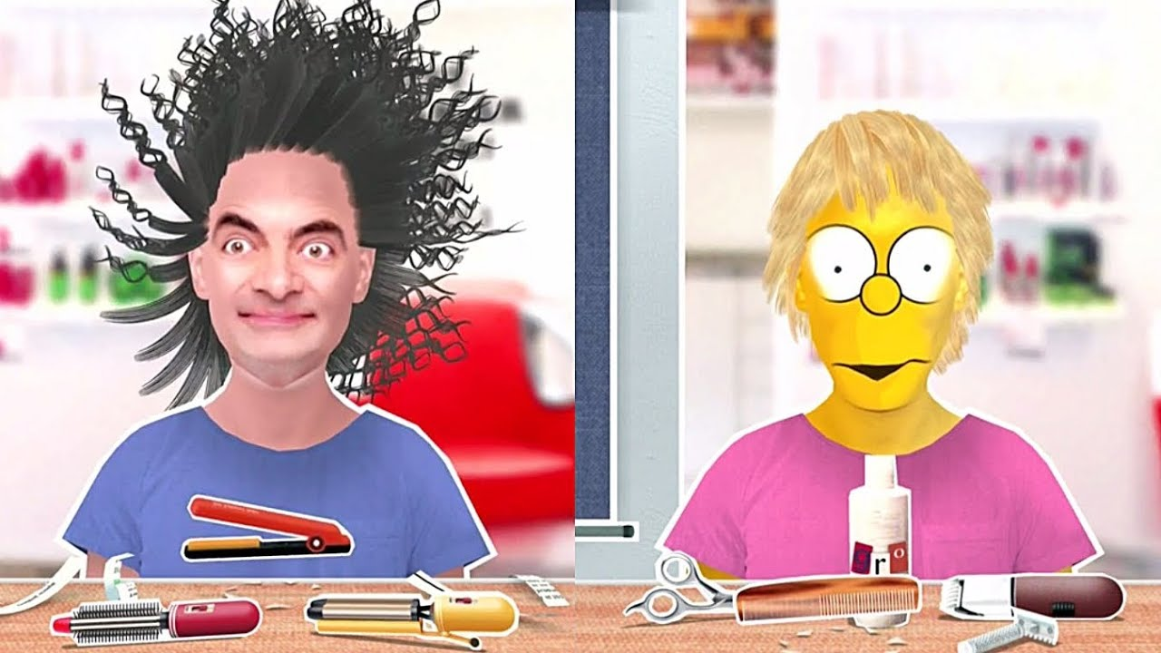 toca hair salon me app mr bean bart simpson zu besuch