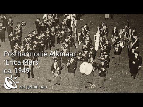 Postharmonie Alkmaar speelt 'de Erica mars'