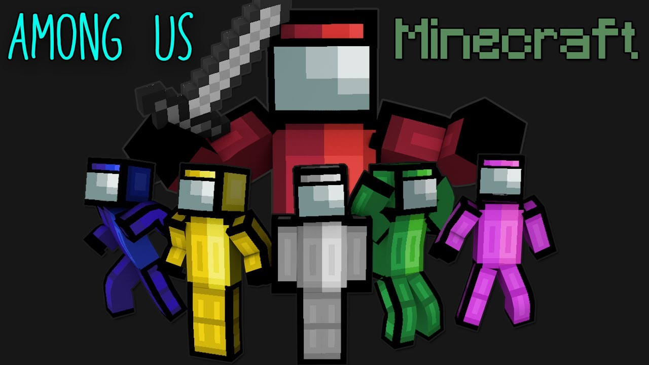 FUNNY AMONG US Moments Portrayed by MINECRAFT