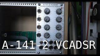 Doepfer A-141-2 VCADSR Demo / Overview (with Oscilloscope)