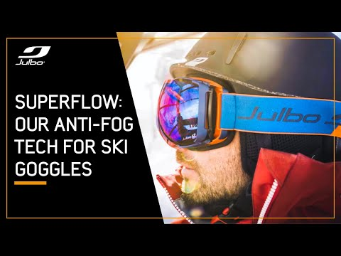 SuperFlow System - Anti-fog technology for ski goggles