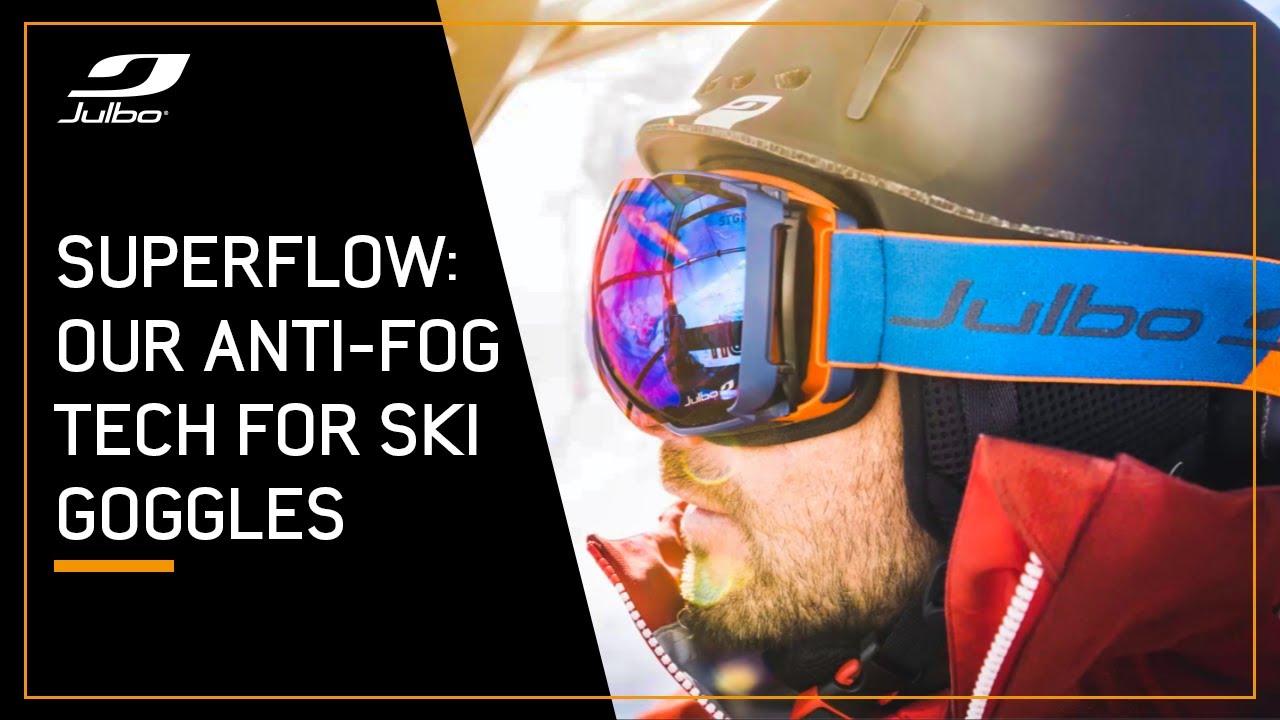 1331cea99b1e SuperFlow System - Anti-fog technology fo ski goggles - YouTube