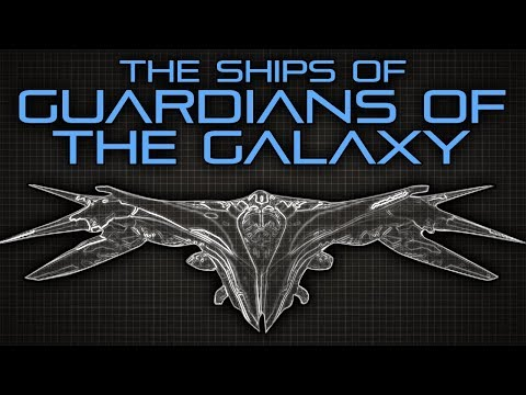 The Ships of the Guardians of the Galaxy