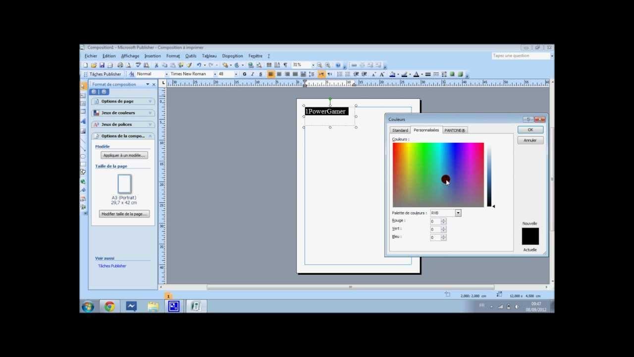 Tutorealiser une super presentation avec microsoft office publisher youtube for Microsoft publisher youtube