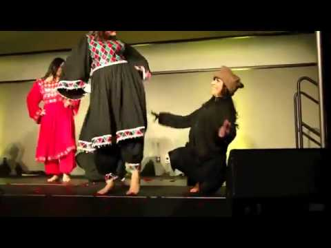 Afghan Girls Nice Dancing And Attan