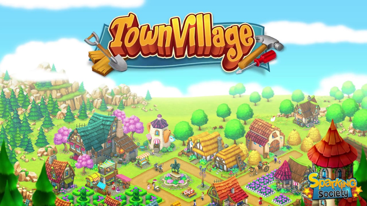 Town village building game for iPhone & iPad 2018