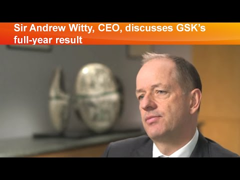 Sir Andrew Witty, CEO, discusses GSK's full-year results 2015