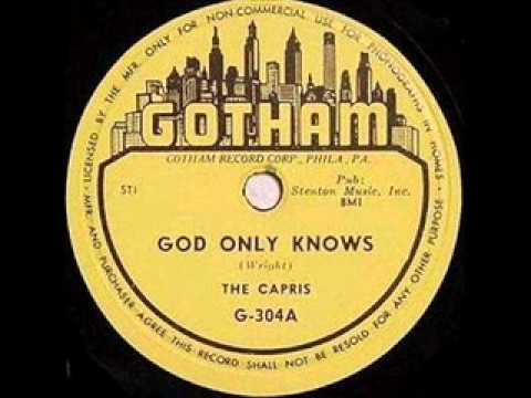 CAPRIS   God Only Knows   1954