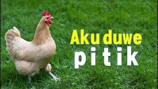 Aku Duwe Pitik (Lagu Tradisional Jawa)