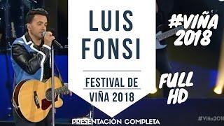 Baixar LUIS FONSI #VIÑA2018 - Festival de Viña del Mar 2018 - Presentación Completa  HD