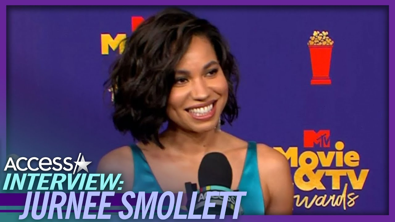 Jurnee Smollett Reacts To First In-Person Red Carpet of 2021