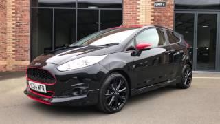 2014 64 Reg - Ford Fiesta 1.0 EcoBoost Black Edition