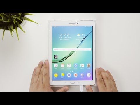 Samsung Galaxy Tab S2 9.7inch 64GB White (SM-T813) | Setup Video & Quick Look