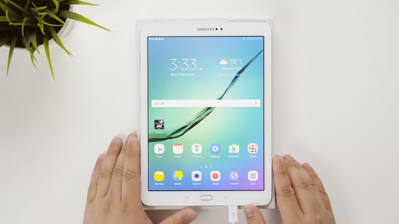 samsung galaxy tab s2 9 7inch 64gb white sm t813 setup video rh youtube com samsung gear s2 quick start guide Samsung Galaxy S6