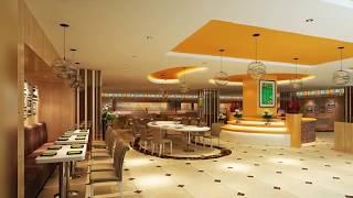 Fast food restaurant interior design home decor