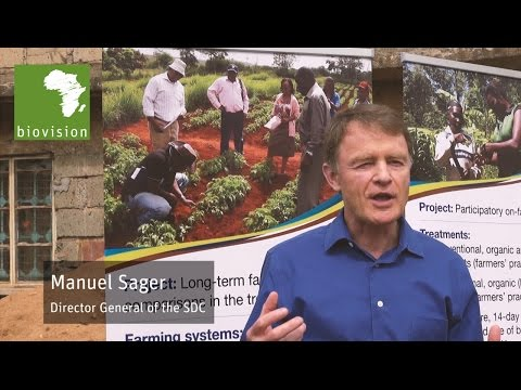 SDC Director Manuel Sager about organic farming
