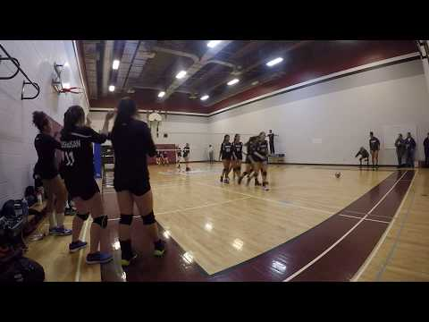FMMCA vs St. Michael CHS [Sr. Girls Volleyball] SET 1