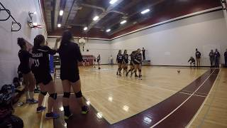 FMMCA vs St. Michael CHS [Sr. Girls Volleyball] SET 1