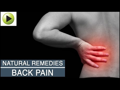 Aches & Pains - Back Pain - Natural Ayurvedic Home Remedies