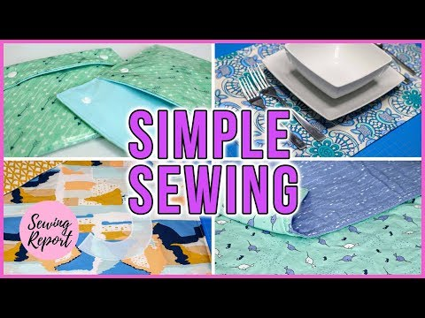 one-simple-technique-=-countless-easy-sewing-projects-|-beginner-friendly-|-sewing-report