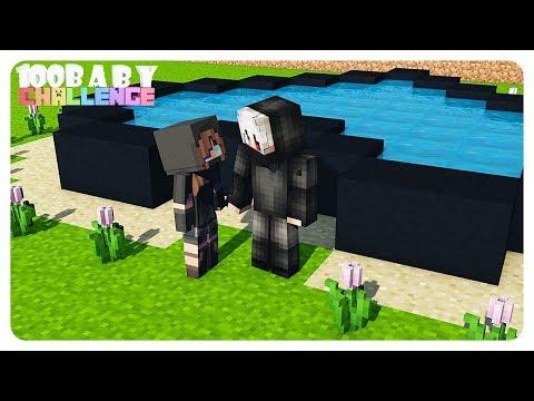 """Kolam CINTA 💖"" | Ep.34 | Minecraft Comes Alive 100 Baby"