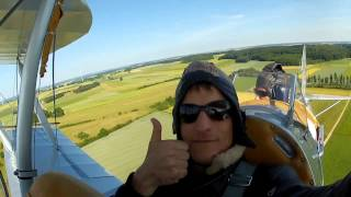 Flying the Tiger Moth