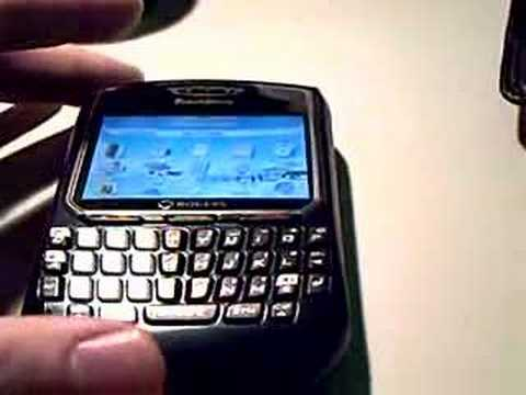 Blackberry 8700 Quick Review