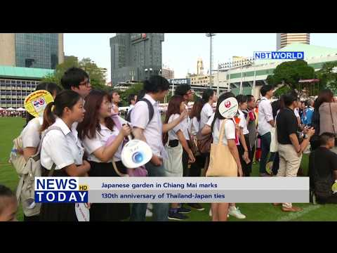 Japanese garden in Chiang Mai marks 130th anniversary of Thailand-Japan ties