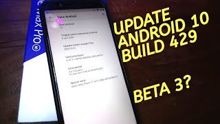 UPDATE Android 10 Build 429 | Asus Zenfone Max Pro M1