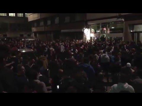 Depor Sevilla 2015 - Riazor Blues y Biris