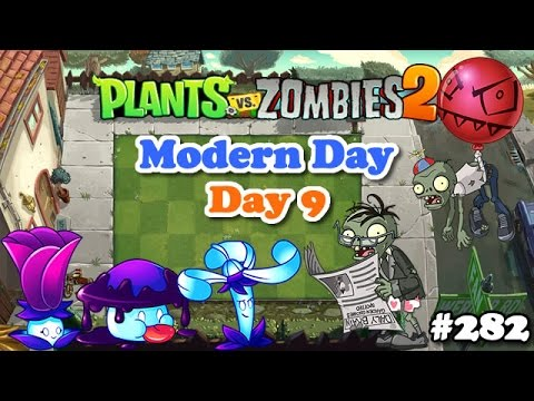 plants vs zombies 2 modern day day 9 vida moderna