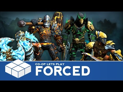 Forced | 4 Player Co-Op Gameplay