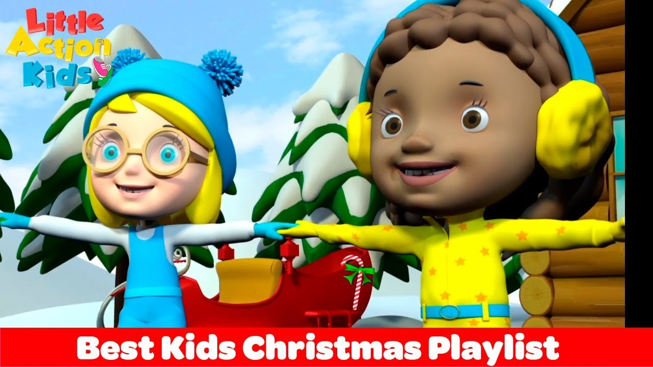 Best Kids Christmas Songs Playlist Featuring Little Action Kids ...