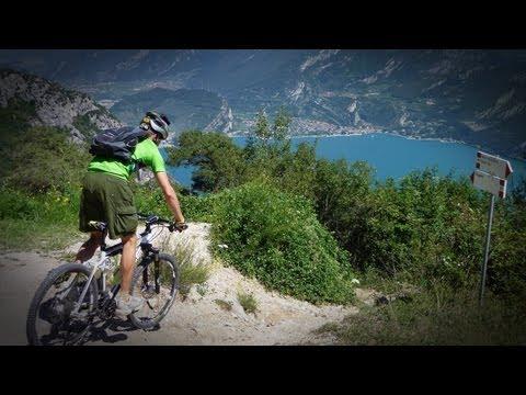 MTB Abfahrt Vom Tremalzo Zum Gardasee (Helmkamera)