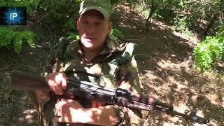 Комбат ВС ДНР Сергей Попов: Будем до конца стоять, никто не сдвинется назад ни на шаг. Часть 1