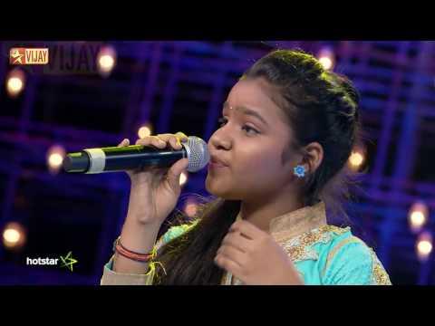 Super Singer Junior - Kannukkul Nooru Nilava by Mierudhula and Hariharan