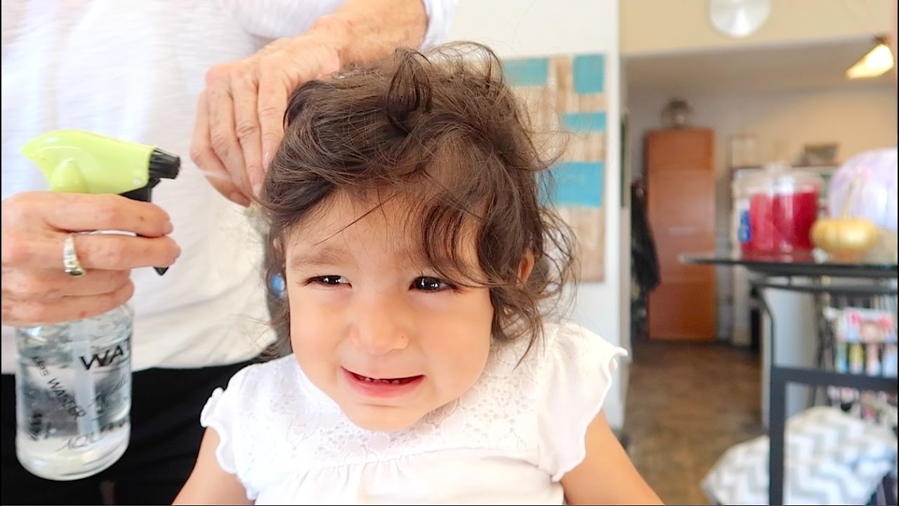Toddler S First Haircut