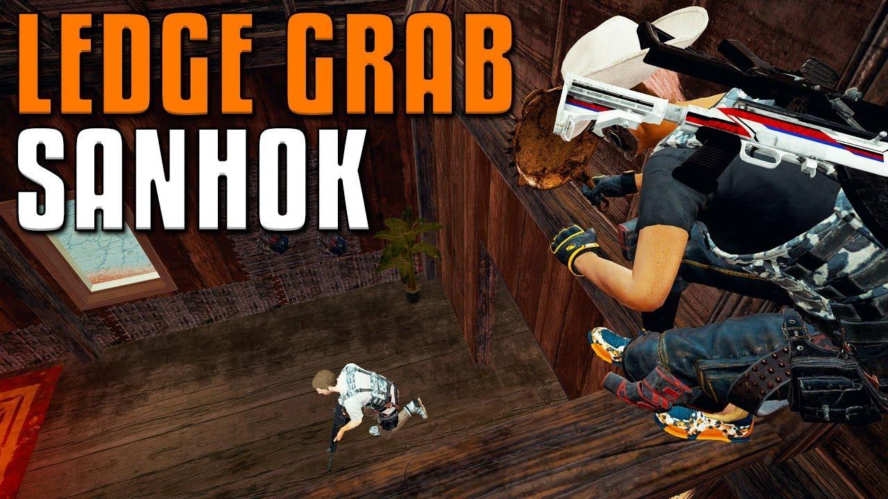Ledge Grab Spots auf Sanhok | PUBG + video