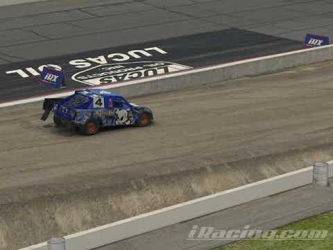 IRacing Pro 4 Lucas Oil Speedway Rally Cross