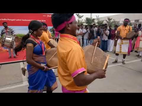 Danfoss Company Pongal Celebration