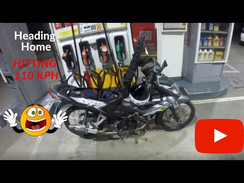 Midnight Run Heading Home | Honda Wave Dash 110