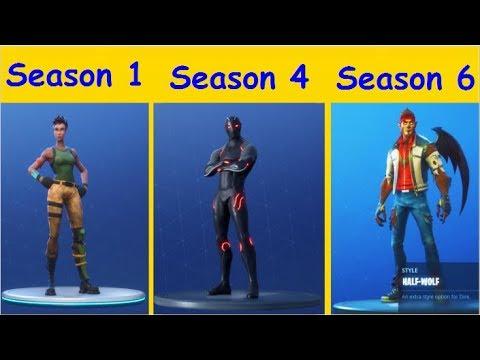 all tier 100 skins season 1 6 fortnite battle royale - fortnite 100 tier skins
