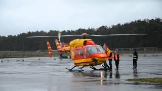 Landung der BK 117 D-HEOE