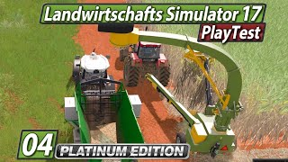 LS17 Platinum PlayTest 🚜 Automatisierungsversuch Nr.1 ► #4 Landwirtschafts Simulator 17 deutsch