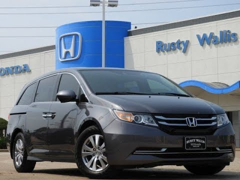 used cars 39 15 honda odyssey ex l at rusty wallis in dallas tx youtube. Black Bedroom Furniture Sets. Home Design Ideas