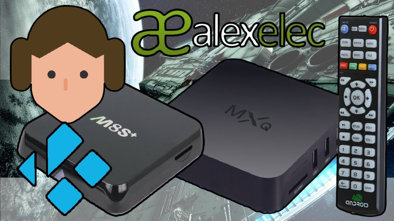 AlexELEC: Amlogic S805 and S812 Android TV Box KODI 18 Leia Update Tutorial