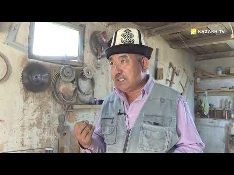 Кыргыздын улуттук аспабы «комуз» кантип жасалат?  (Кырг)