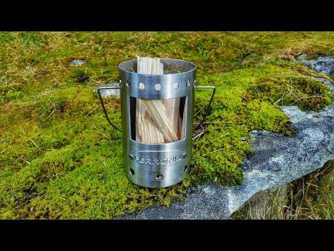 Campingkocher Aus Edelstahl Selber Bauen 🔥Teil 1