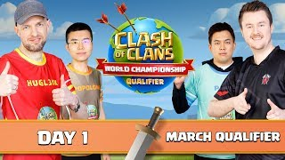 World Championship March Qualifier Day 1 Clash of Clans